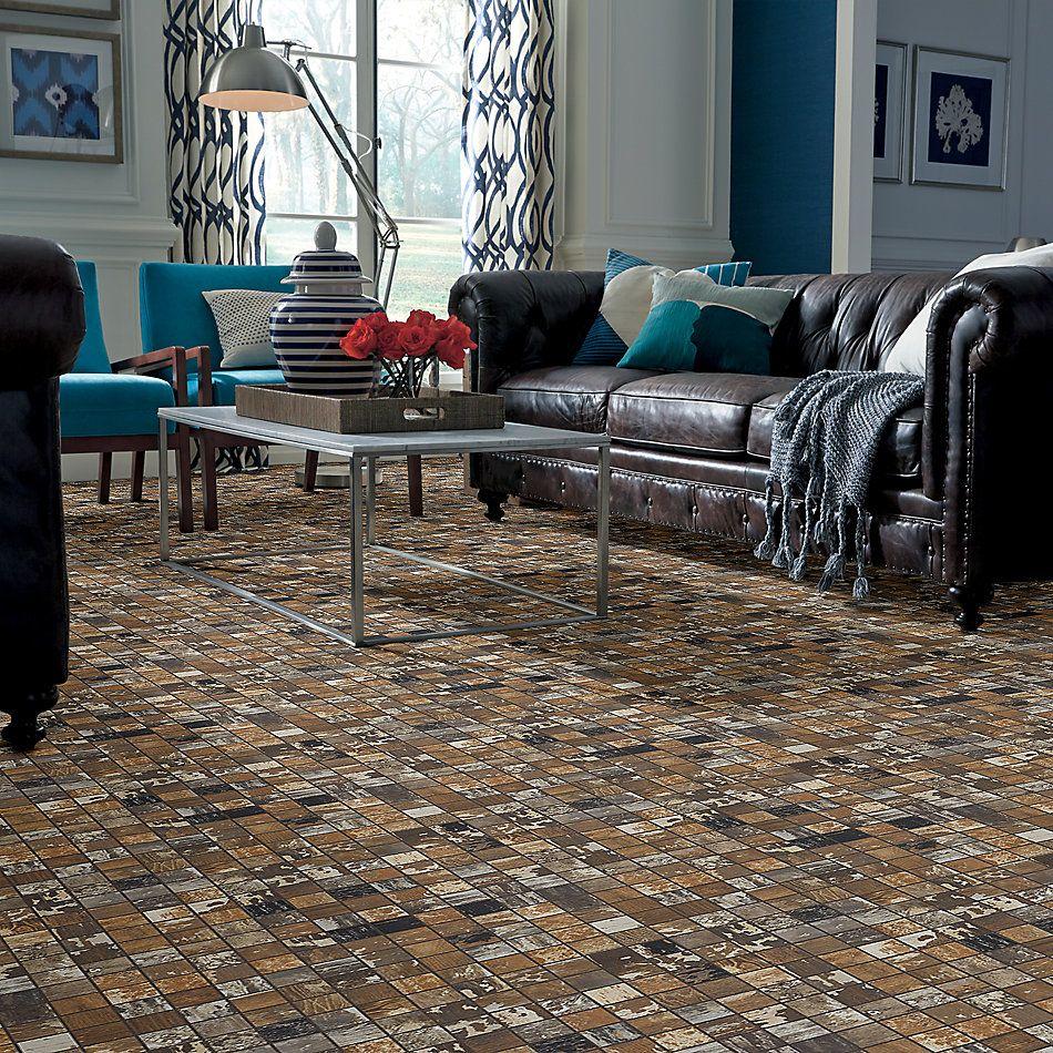 Shaw Floors Home Fn Gold Ceramic Sleepy Hollow Mosaic Poplar 00670_TG48C