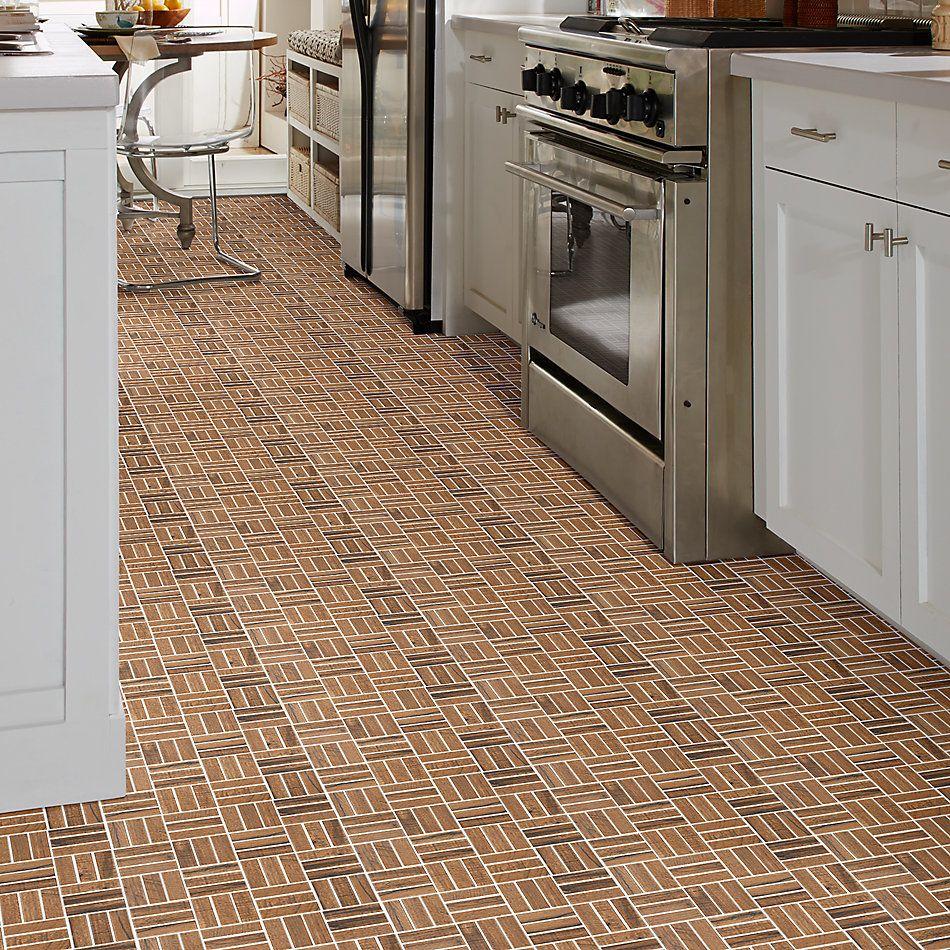 Shaw Floors Home Fn Gold Ceramic Denali Mosaic Nutmeg 00670_TGJ68