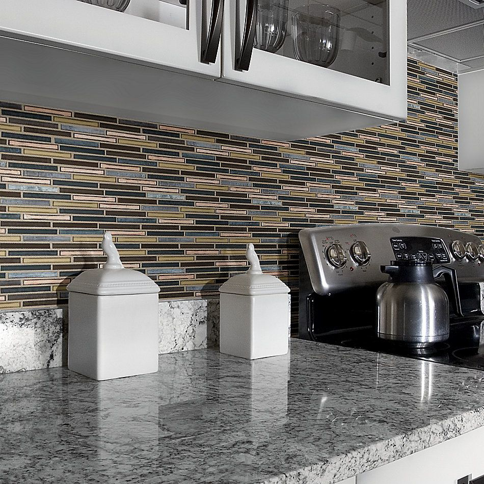 Shaw Floors Home Fn Gold Ceramic Molten Linear Glass Bronze 00675_TGJ83
