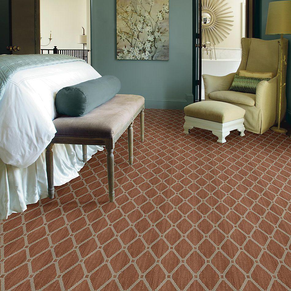 Anderson Tuftex American Home Fashions Neat Star Calico Rose 00675_ZA888