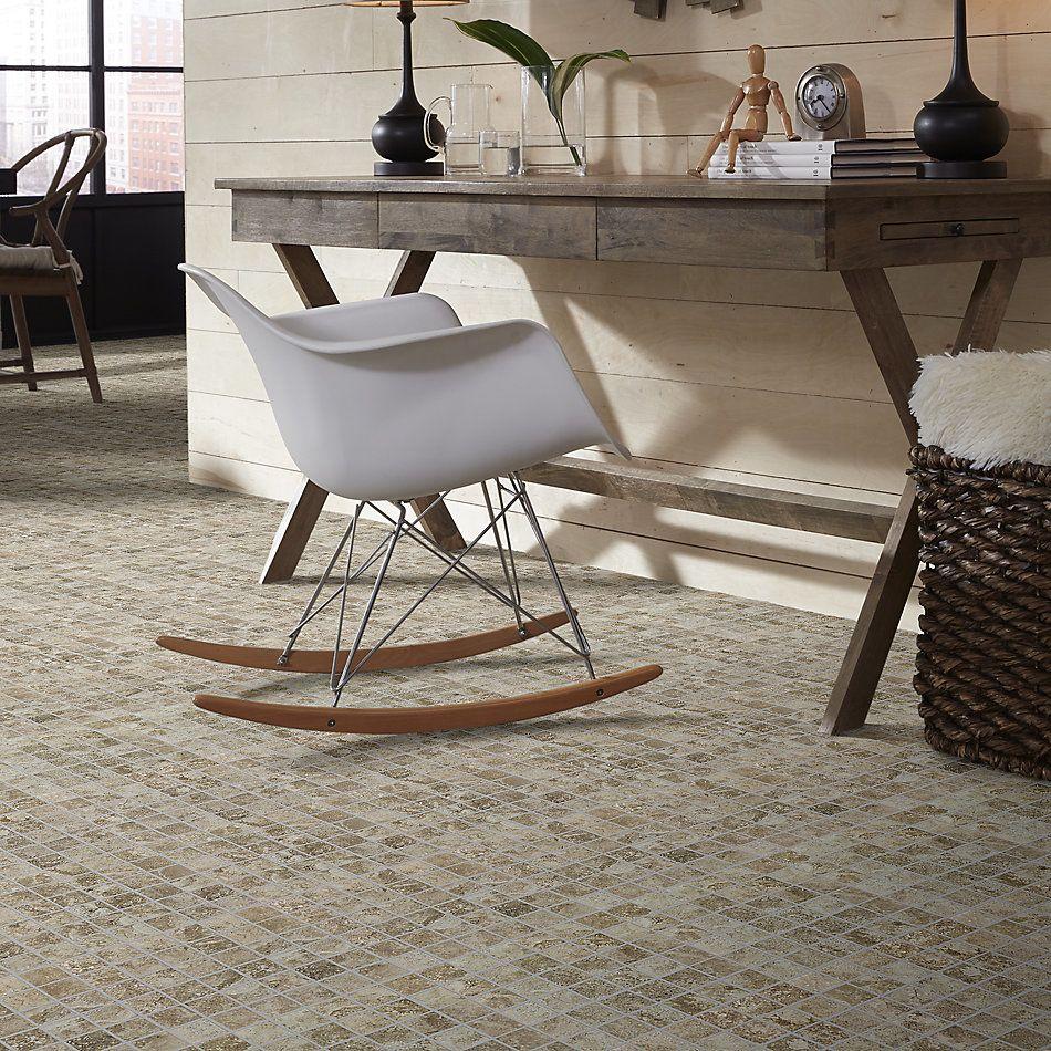 Shaw Floors Ceramic Solutions Stonework Mosaic Brown 00700_263TS