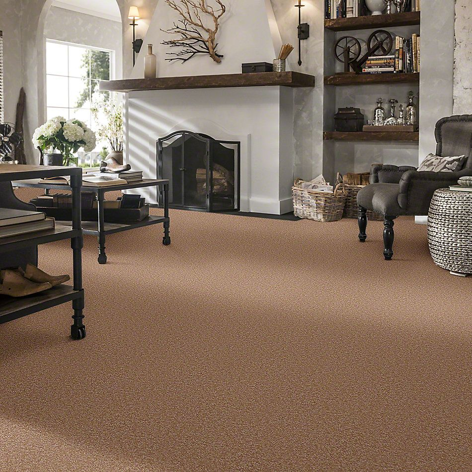 Shaw Floors Queen Sandy Hollow II 12′ Muffin 00700_Q4275