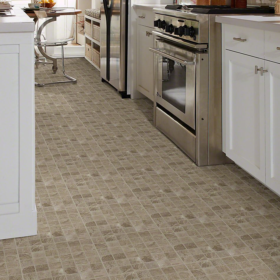 Shaw Floors Ceramic Solutions Artisan Mosaic Clay 00700_CS12V