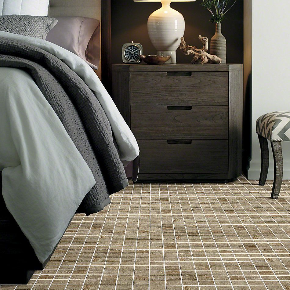 Shaw Floors Ceramic Solutions Zenith Mosaic Brown 00700_CS40P