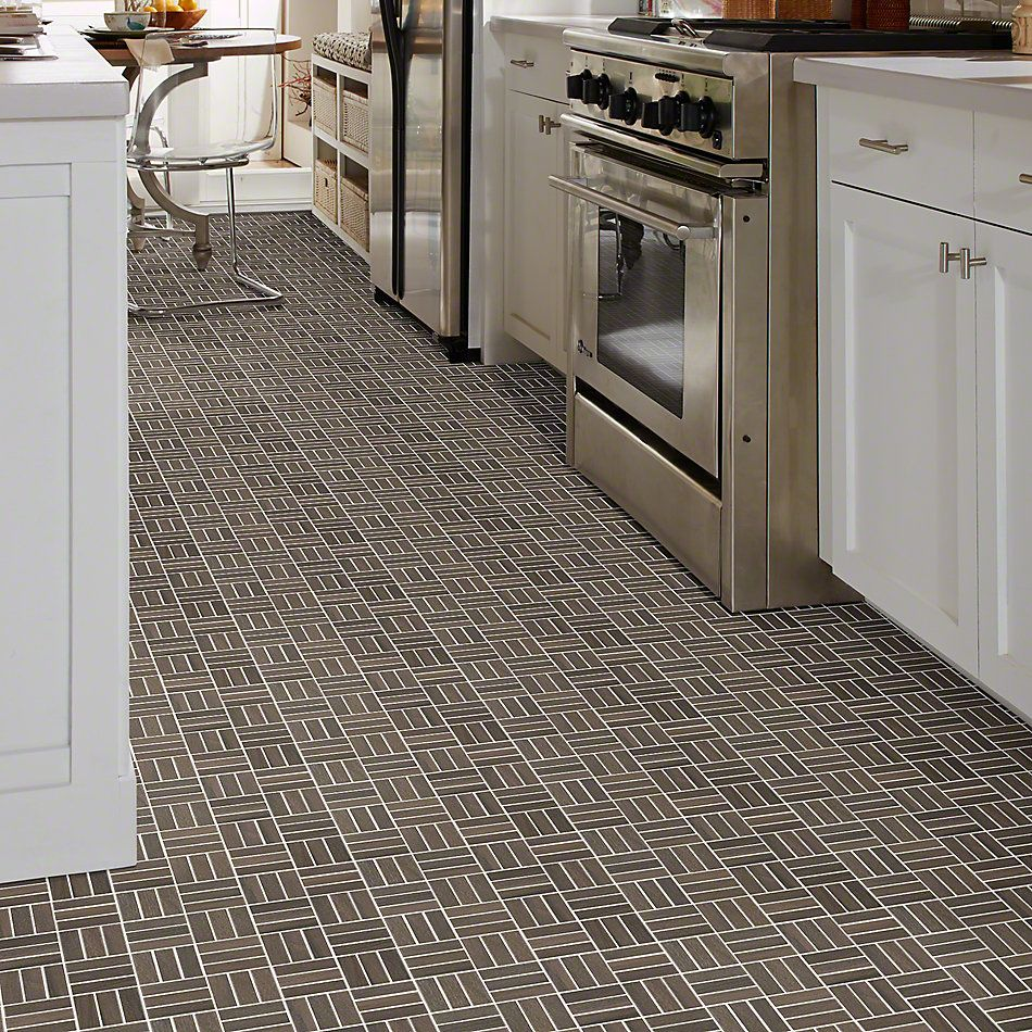 Shaw Floors Ceramic Solutions Voyage Mosaic Brown 00700_CS59Q
