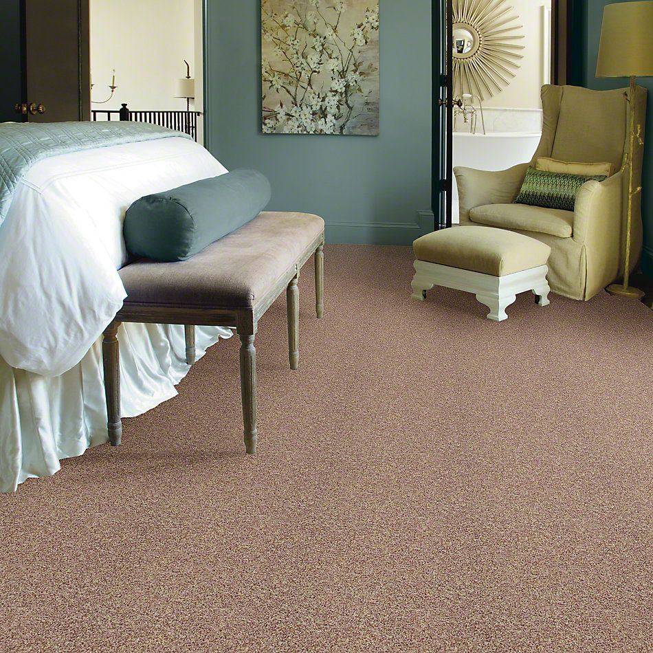 Shaw Floors Value Collections Dazzle Me Texture Net Camel 00700_E0884