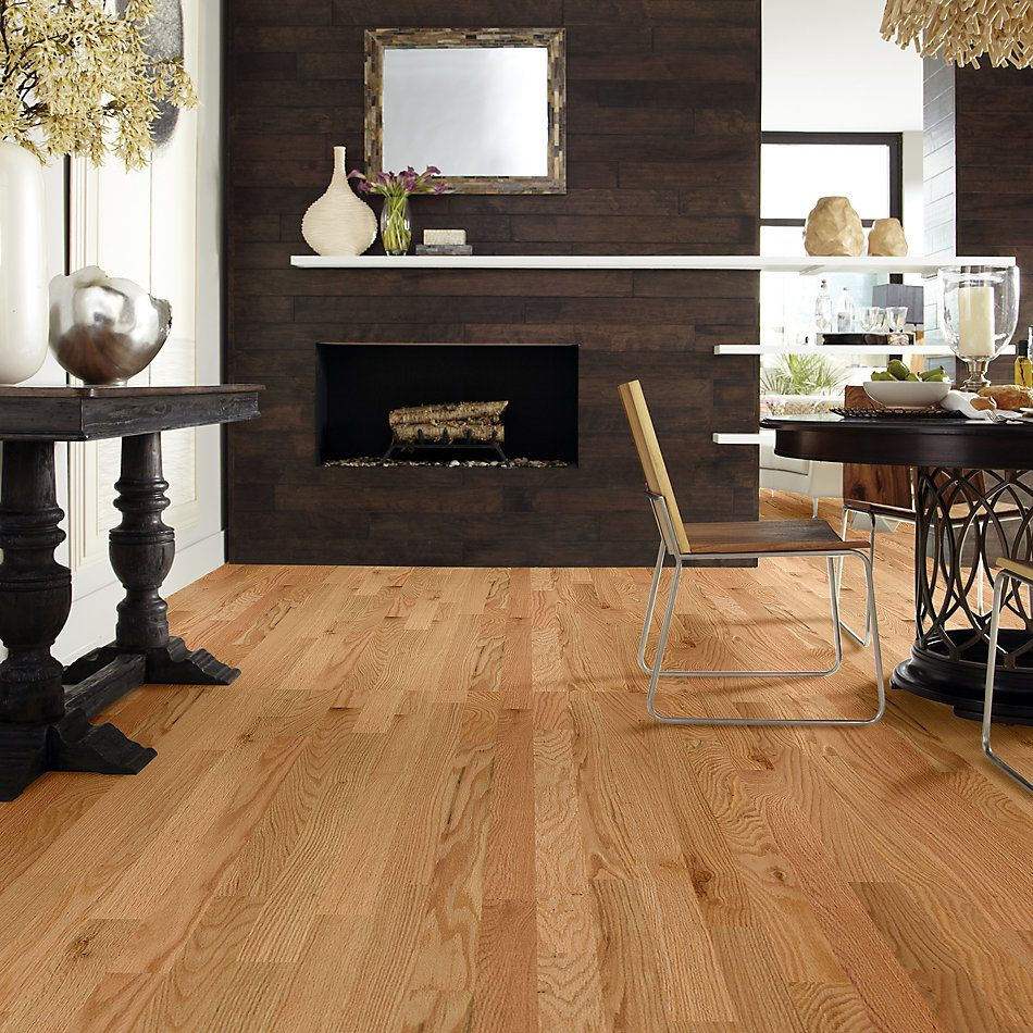 Shaw Floors Home Fn Gold Hardwood Family Reunion 3.25 Red Oak Natural 00700_HW425