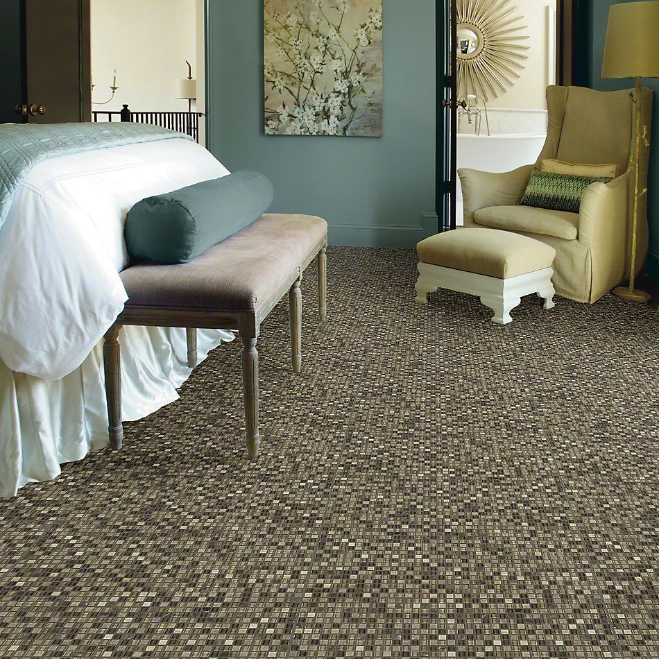 Shaw Floors SFA Marvelous Mix 5/8 Mosaic Cappuccino 00700_SA986