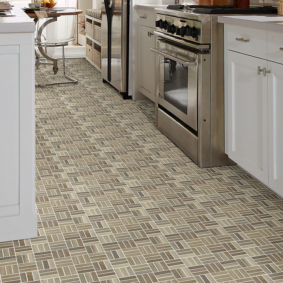 Shaw Floors Home Fn Gold Ceramic Revolution Mosaic Walnut 00700_TGJ71