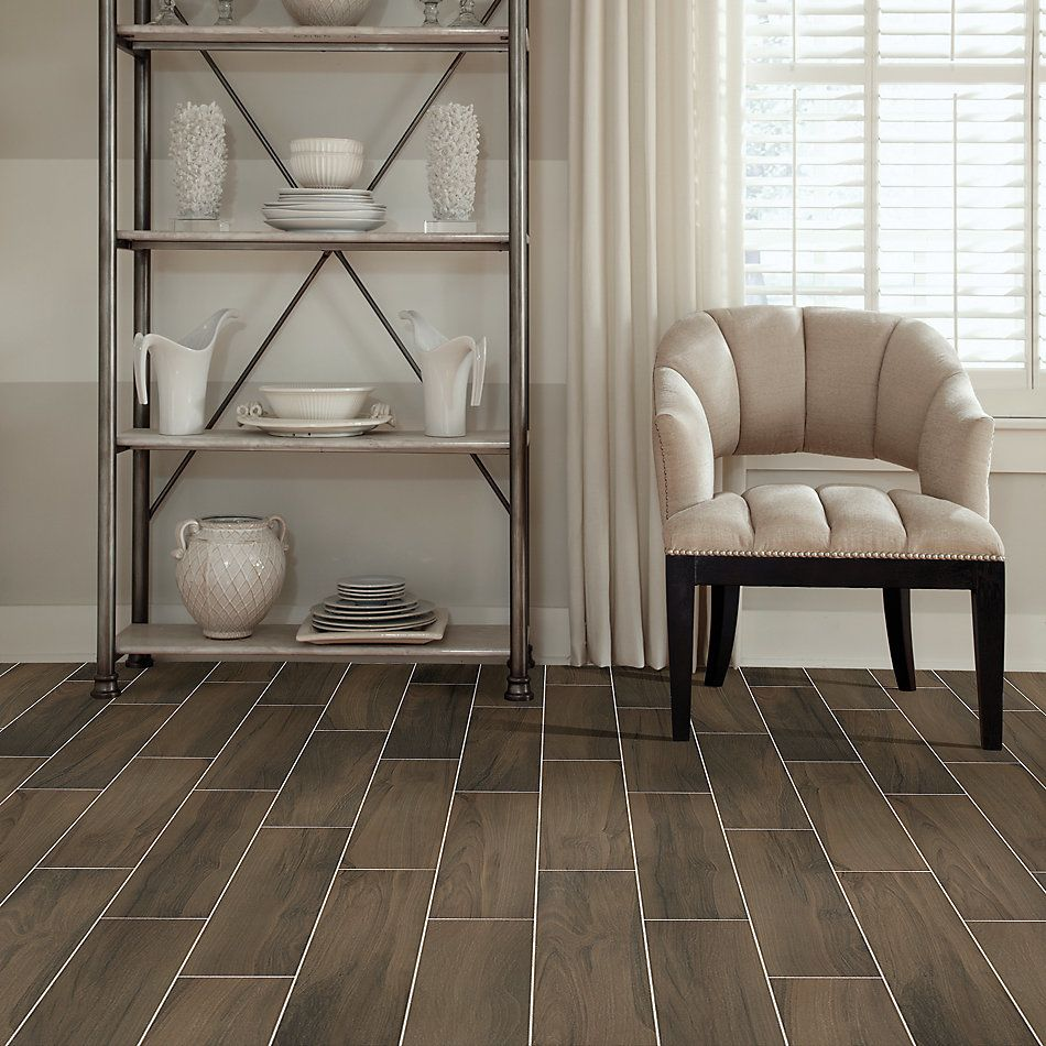 Shaw Floors Home Fn Gold Ceramic Traveler 6×24 Brown 00700_TGN64