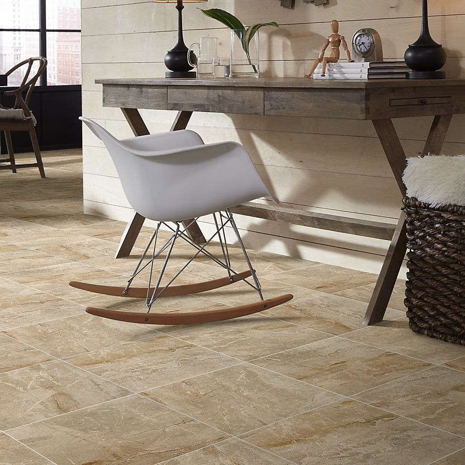 Shaw Floors Home Fn Gold Ceramic Apex 18×18 Brown 00700_TGN68