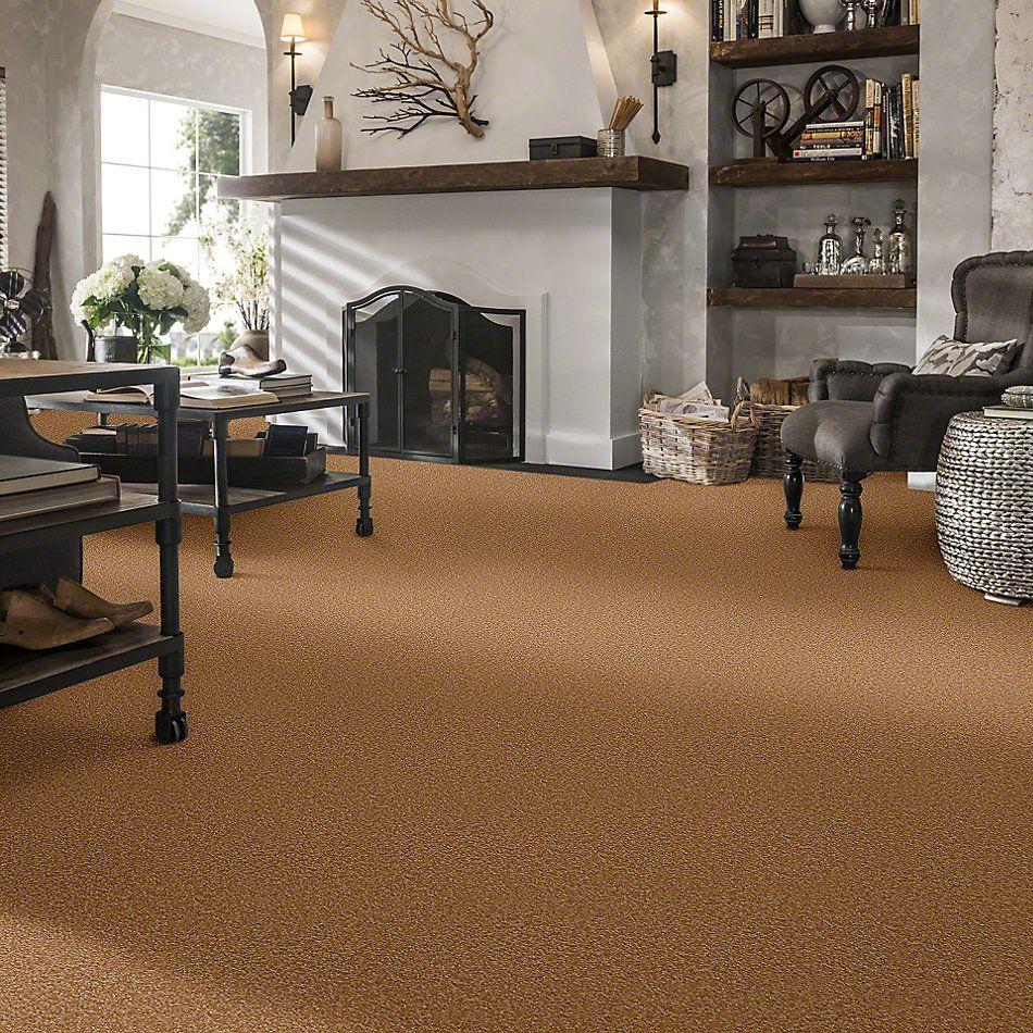 Shaw Floors Queen Sandy Hollow II 12′ Peanut Brittle 00702_Q4275