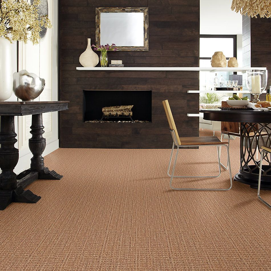 Shaw Floors Foundations Natural Boucle 15 Net Birch 00702_E9680