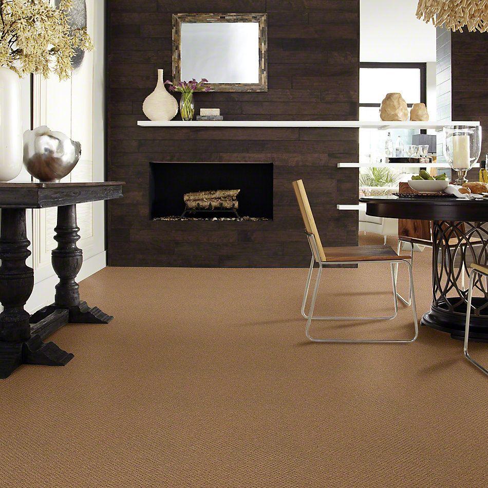 Shaw Floors Shaw Flooring Gallery Supreme Comfort Loop English Toffee 00703_5469G