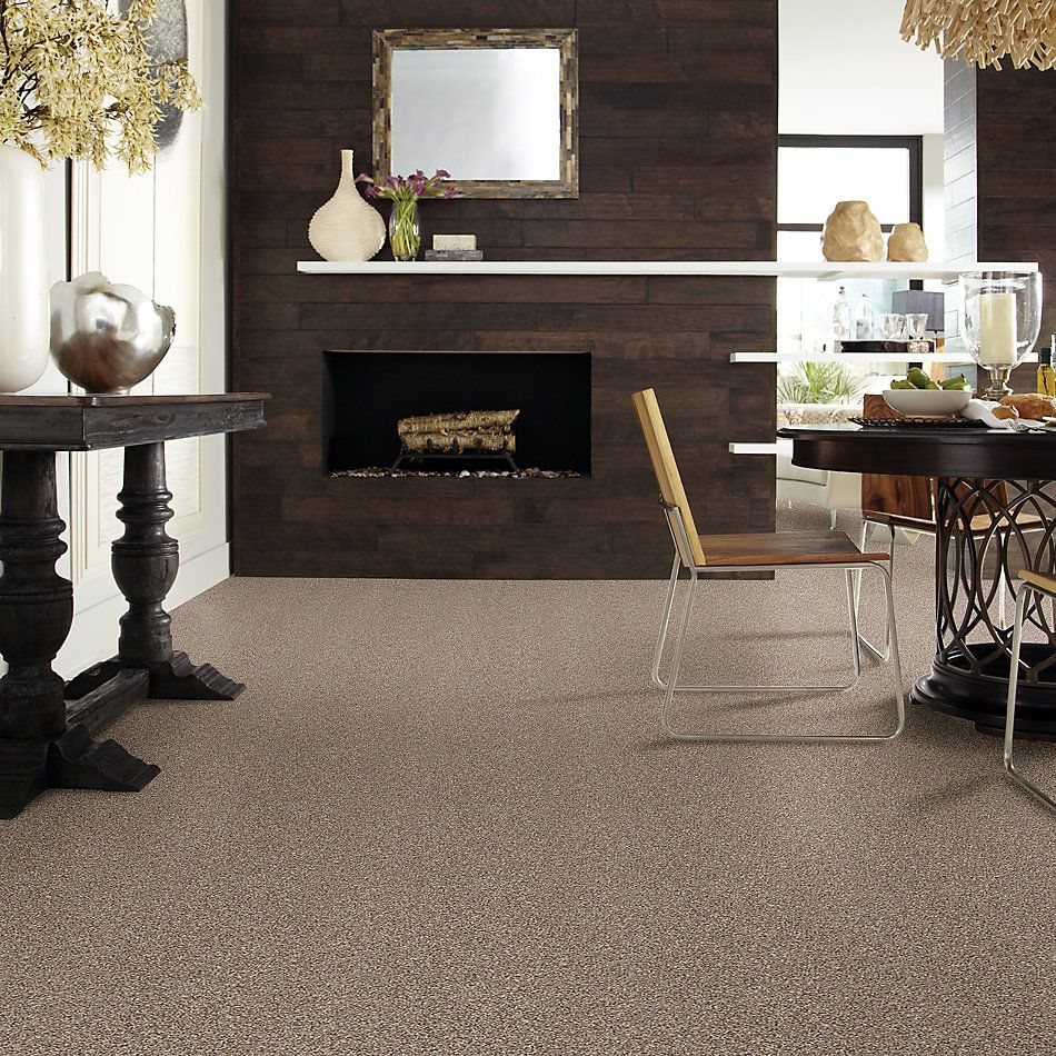 Shaw Floors Value Collections Poised Net Brown Sugar 00710_5E102