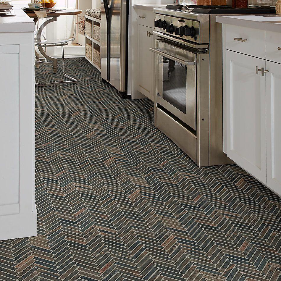 Shaw Floors Charwood Herringbone Mosaic Burned 00719_TG30D