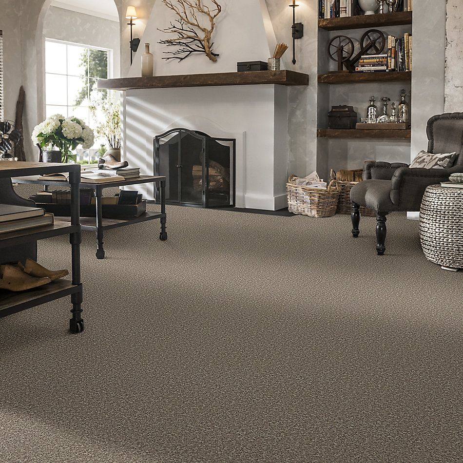 Shaw Floors Value Collections Full Court Net River Slate 00720_E0713