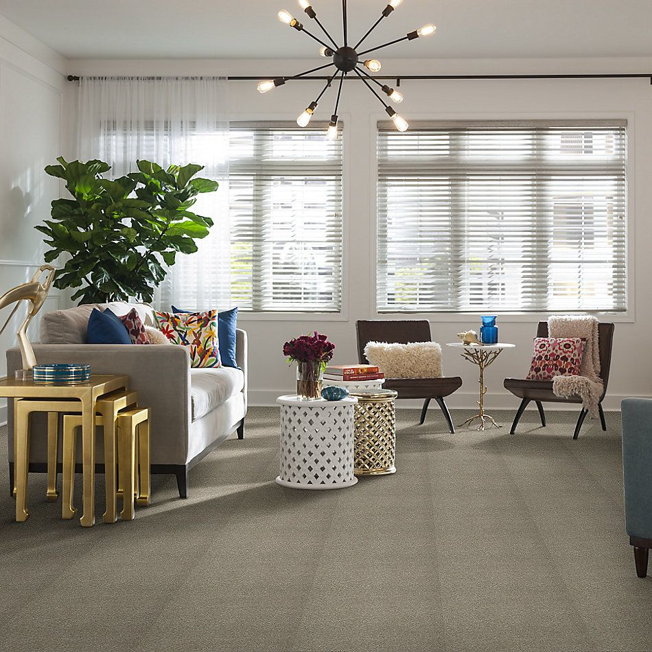 Shaw Floors Foundations Take The Floor Texture Blue Threshold 00732_5E007