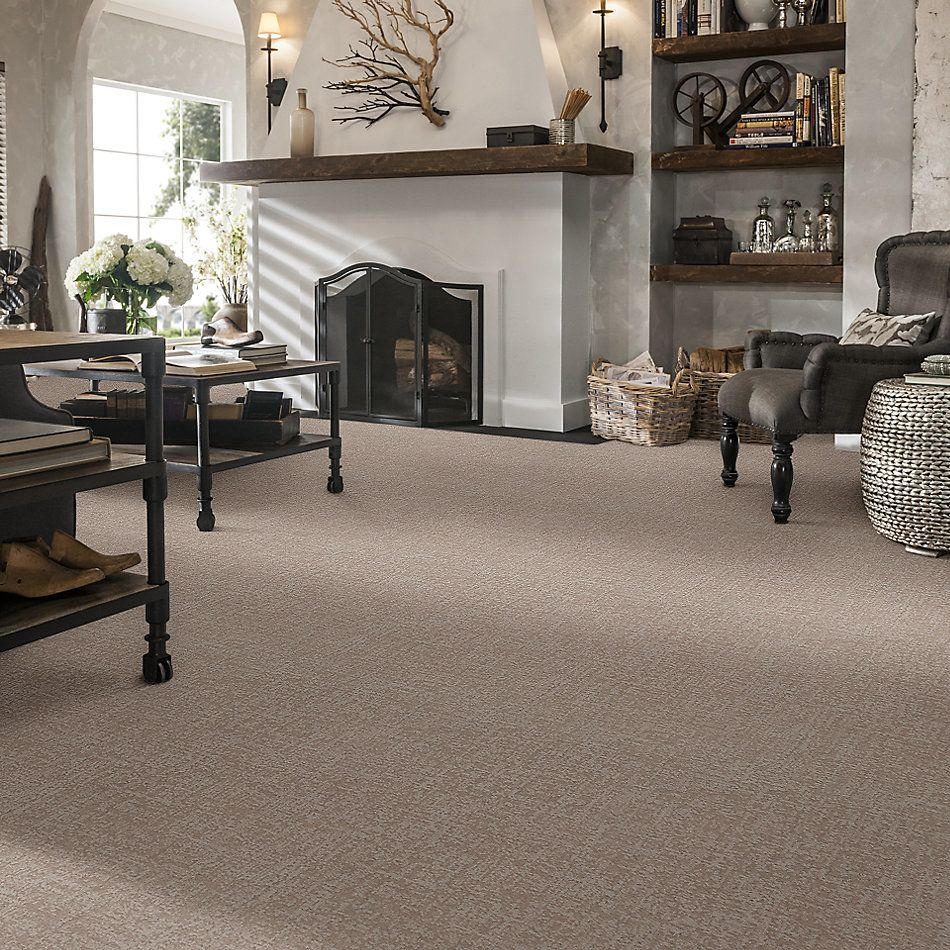 Shaw Floors Caress By Shaw Fine Structure Sandstone 00743_CC69B