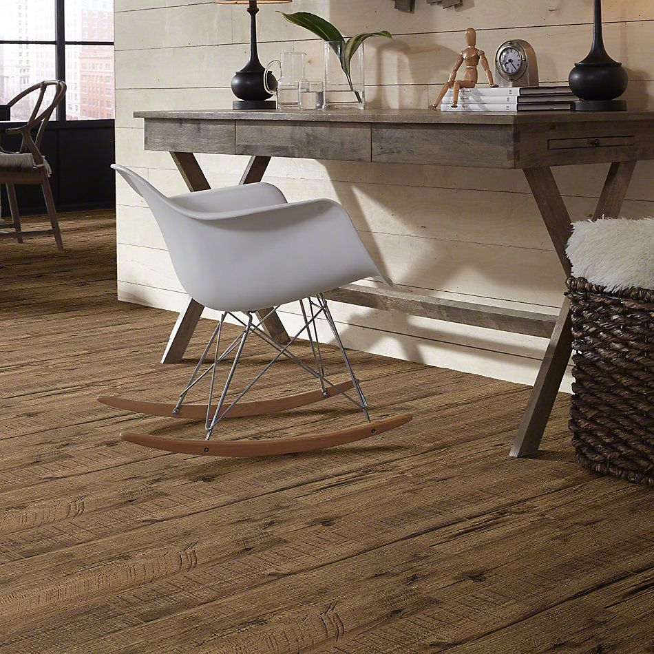 Shaw Floors Ceramic Solutions Fired Hickory 6×36 Pecan 00750_CS37M
