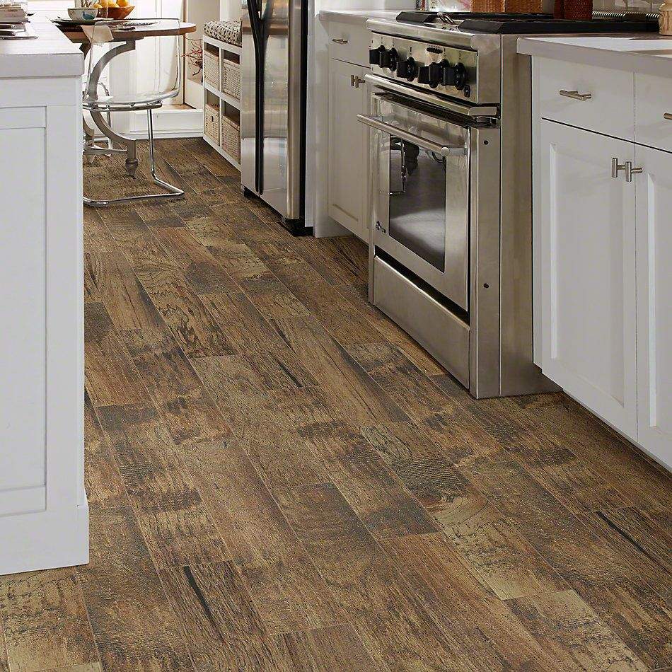 Shaw Floors Ceramic Solutions Hacienda 6×36 Pecan 00750_CS61V
