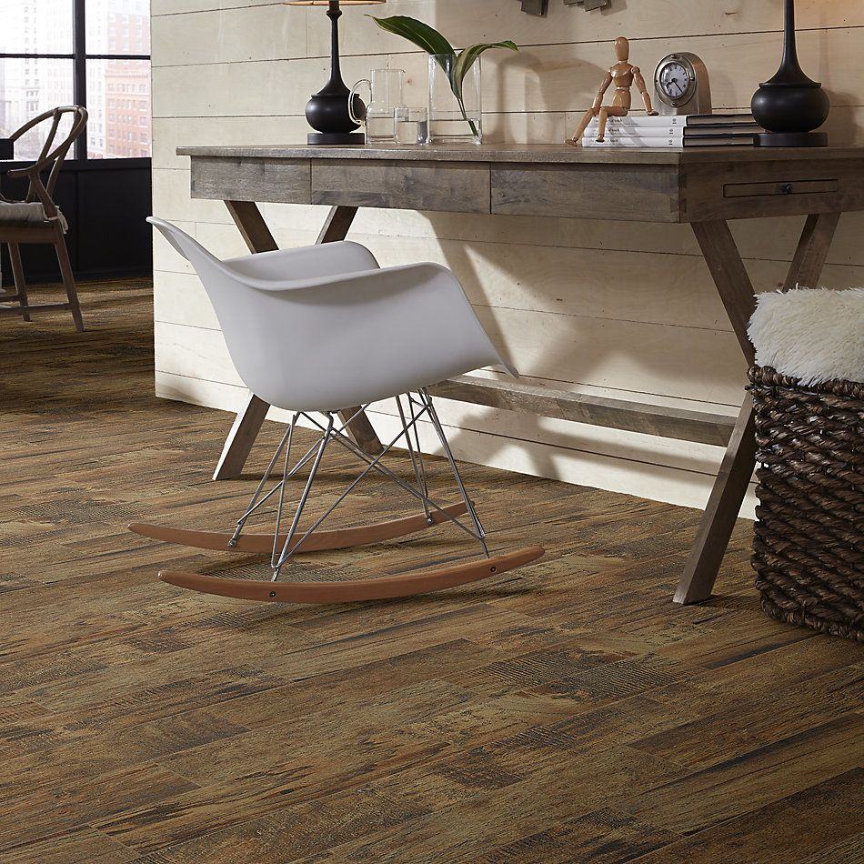 Shaw Floors Home Fn Gold Ceramic Plantation 6×24 Pecan 00750_TG42A