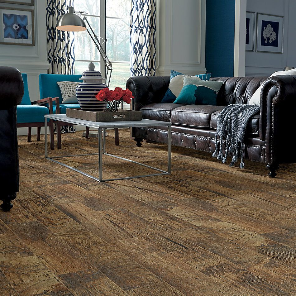 Shaw Floors Home Fn Gold Ceramic Plantation 6×36 Pecan 00750_TG46A
