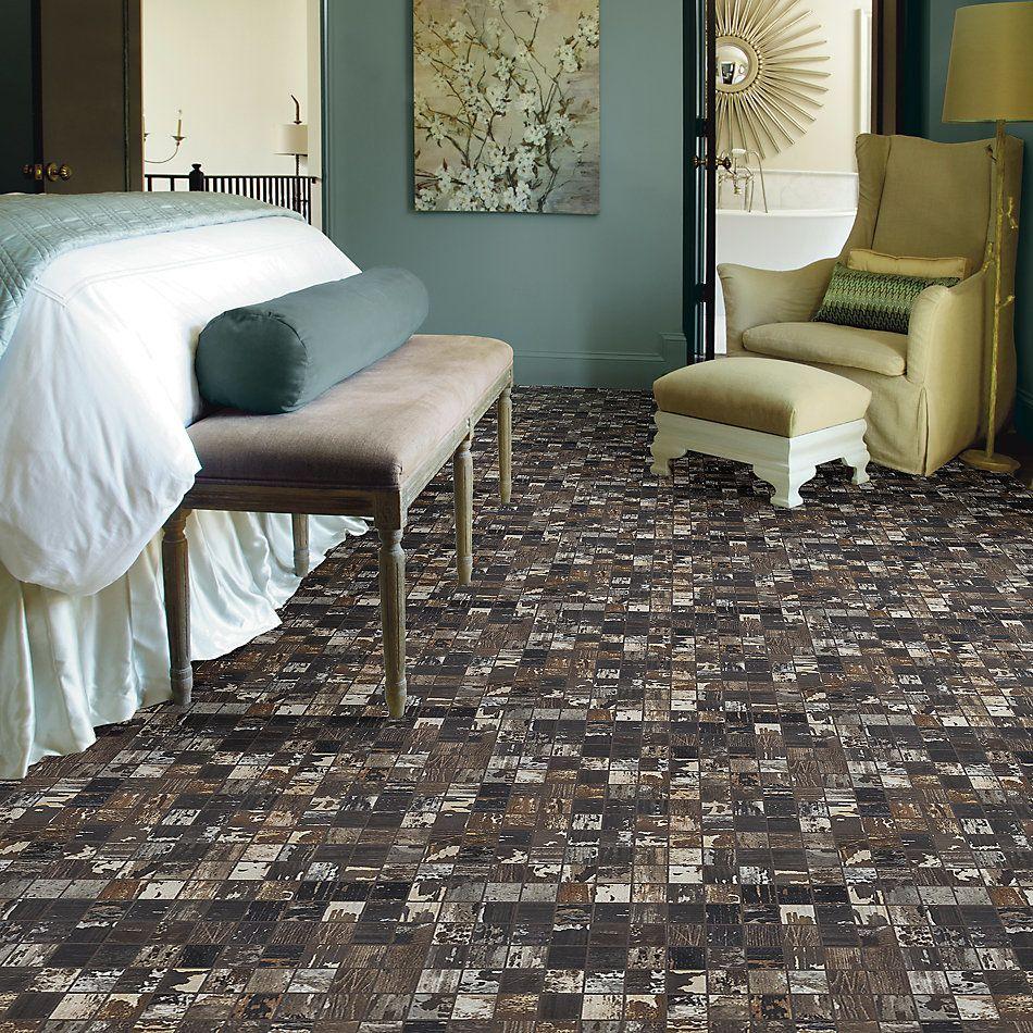 Shaw Floors Home Fn Gold Ceramic Sleepy Hollow Mosaic Sourwood 00750_TG48C