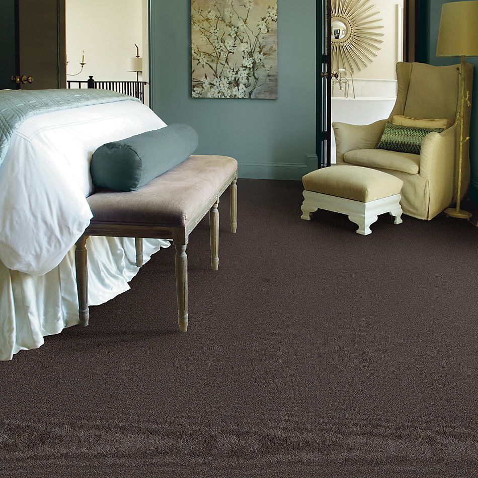 Shaw Floors Caress By Shaw Crafting Design Burma Brown 00752_CC82B