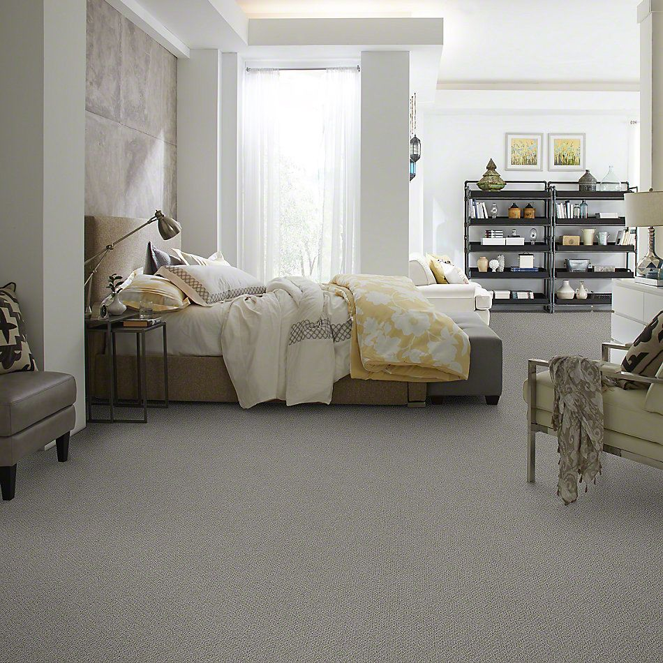 Shaw Floors Truly Relaxed Loop Fog 00753_E0657