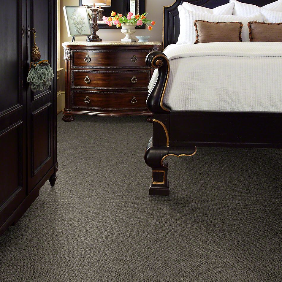 Shaw Floors Truly Relaxed Loop Graphite 00754_E0657