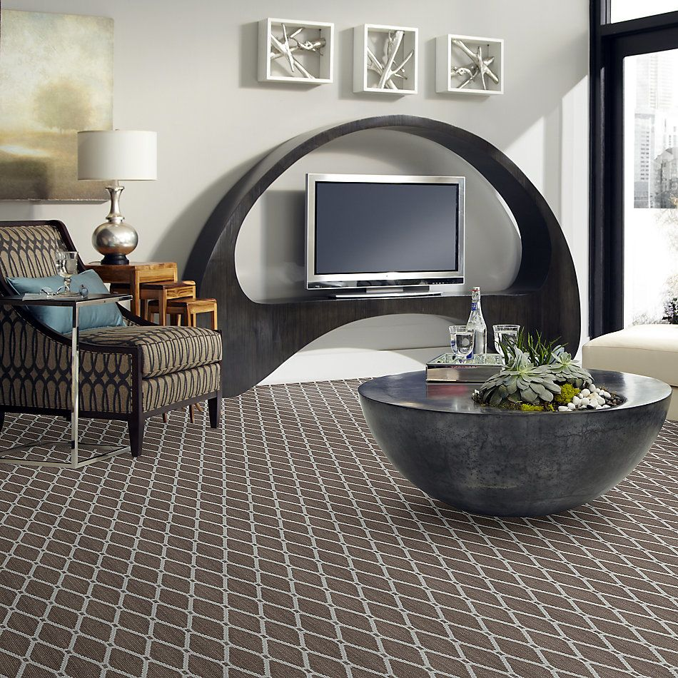 Anderson Tuftex American Home Fashions Neat Star Cosmo Taupe 00755_ZA888