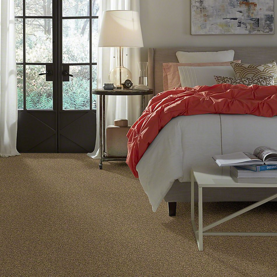 Shaw Floors Anso Colorwall Gold Texture Latte 00760_EA571