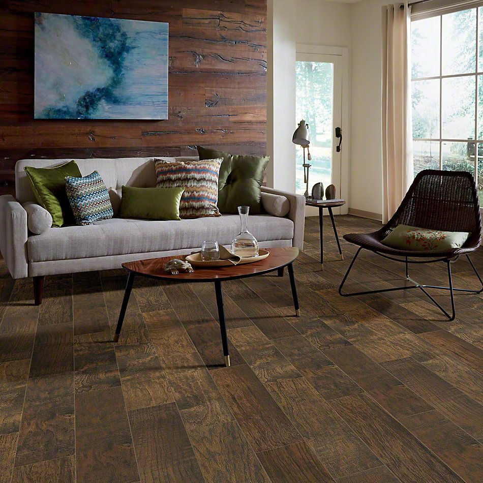 Shaw Floors Ceramic Solutions Hacienda 6×36 Walnut 00770_CS61V