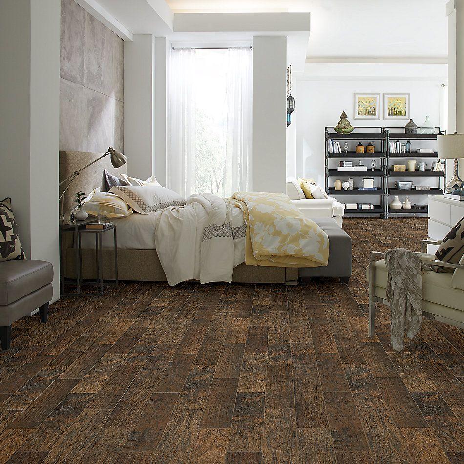 Shaw Floors Home Fn Gold Ceramic Plantation 6×24 Walnut 00770_TG42A