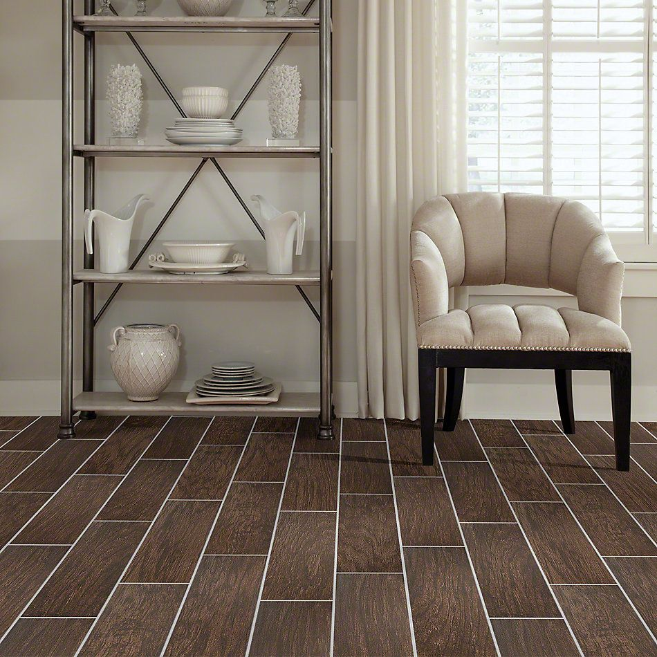 Shaw Floors Ceramic Solutions Petrified Hickory 6×36 Timeworn 00775_CS36M