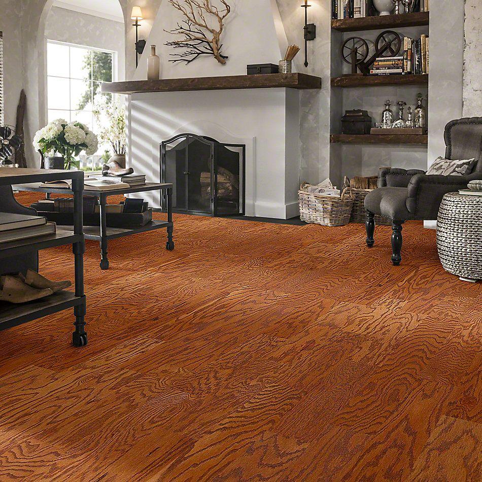 Shaw Floors Duras Hardwood All In II 5 Gunstock 00780_HW582