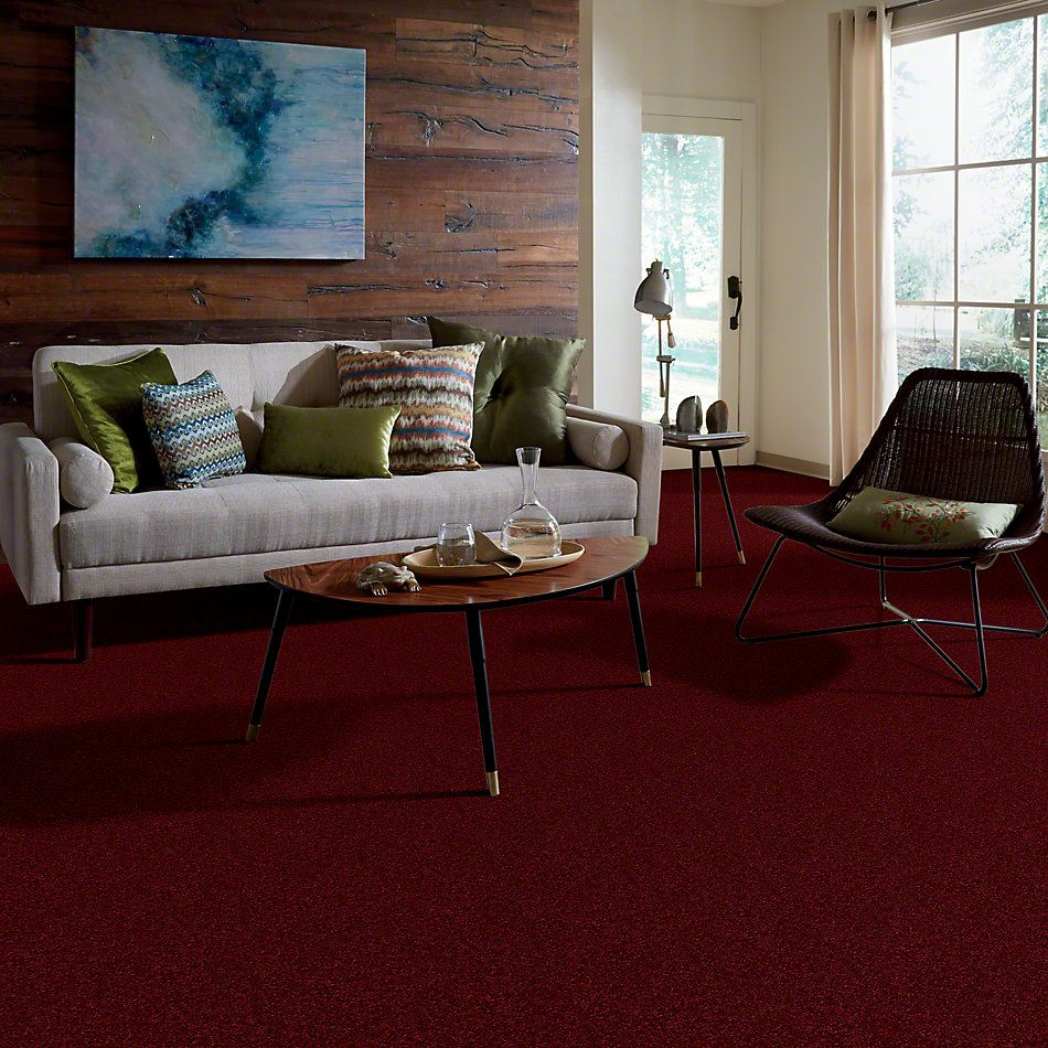 Shaw Floors Town Creek I 12 Cherry Red 00800_52S28