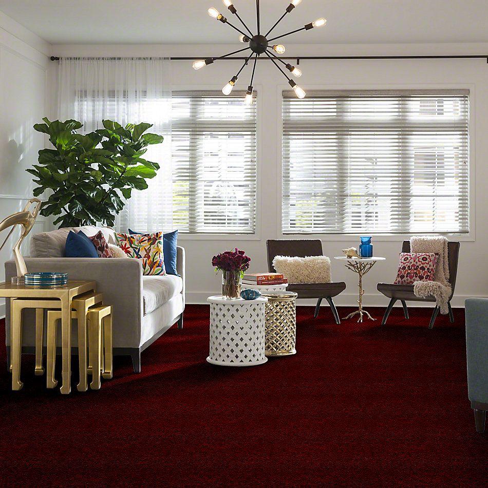 Shaw Floors Town Creek I 15′ Cherry Red 00800_52V12