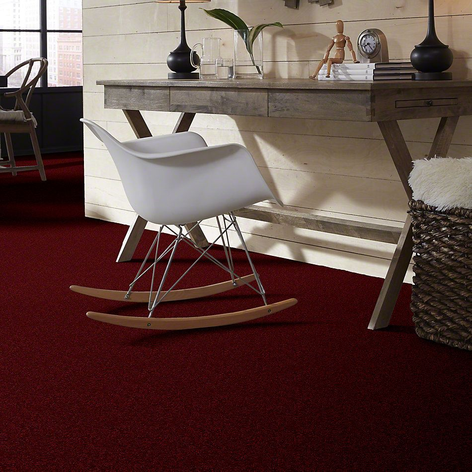 Shaw Floors Shaw Design Center Highly Refined I 12 Cherry Red 00800_QC374