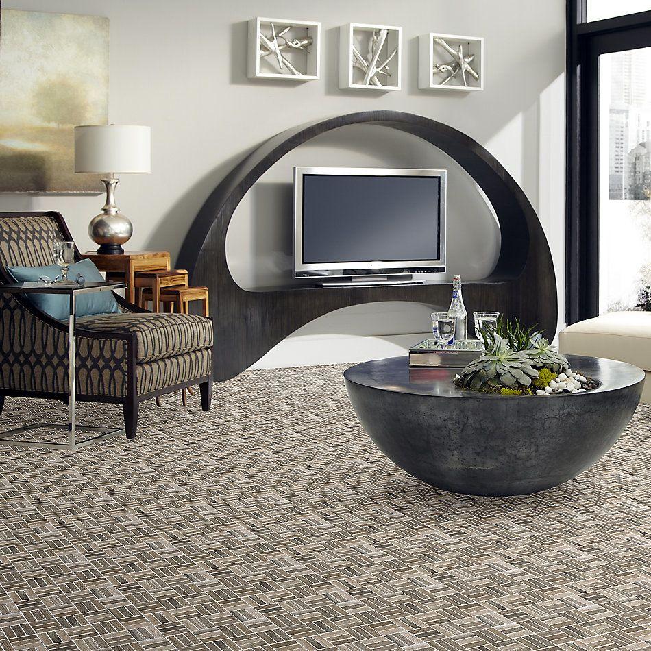 Shaw Floors Home Fn Gold Ceramic Revolution Mosaic Blend 00800_TGJ71