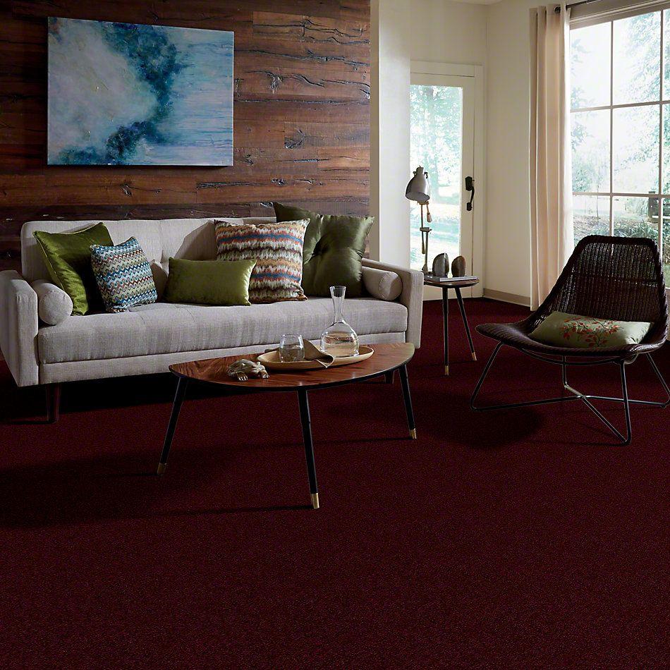 Shaw Floors Town Creek II Vintage Wine 00801_52S30
