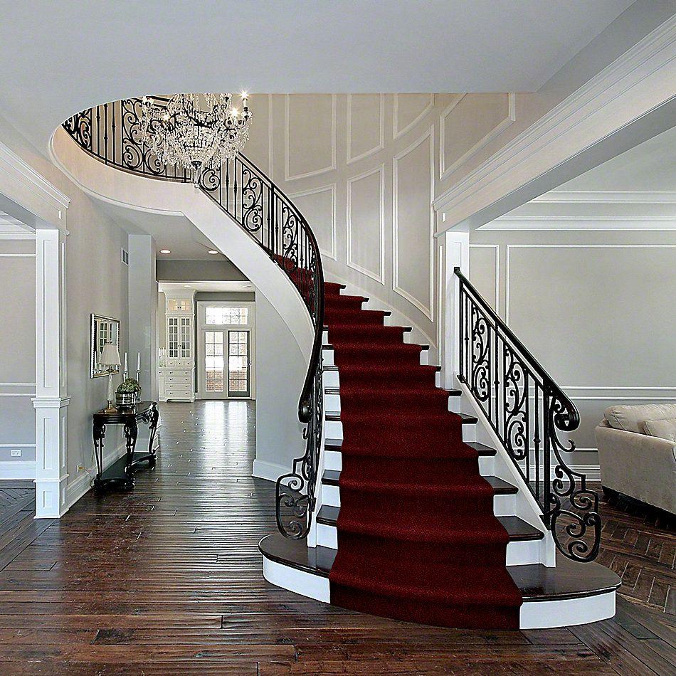 Shaw Floors Fielder's Choice 12′ Red Wine 00801_52Y70