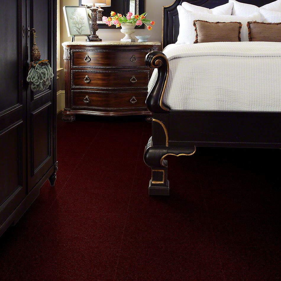 Shaw Floors Full Court 15′ Red Wine 00801_52Y82