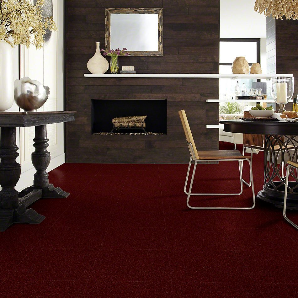 Shaw Floors Shaw Design Center Royal Portrush II 15 Red Wine 00801_5C610