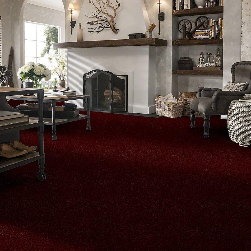 Shaw Floors Shaw Design Center Royal Portrush II 12′ Red Wine 00801_5C612