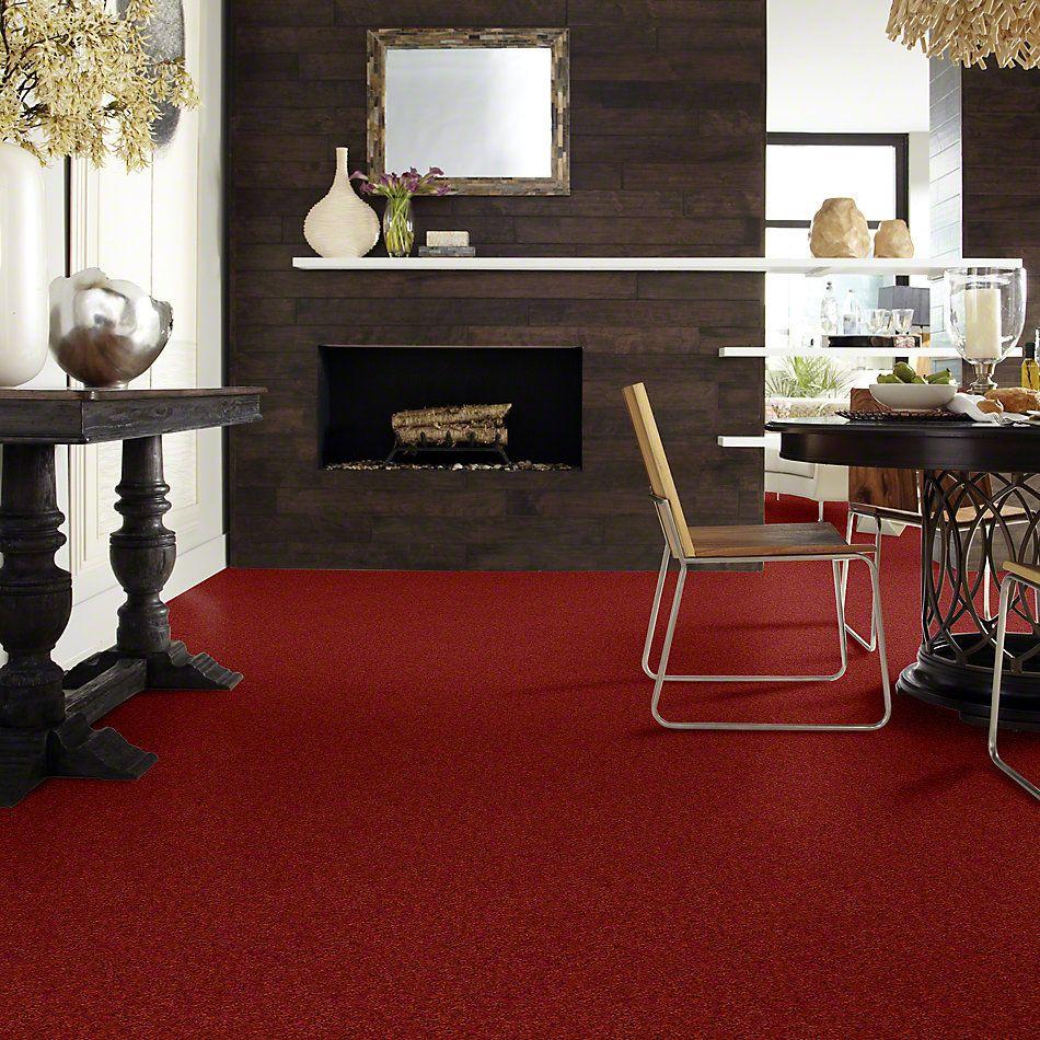 Shaw Floors Clearly Chic Bright Idea II Ravishing Red 00802_E0505
