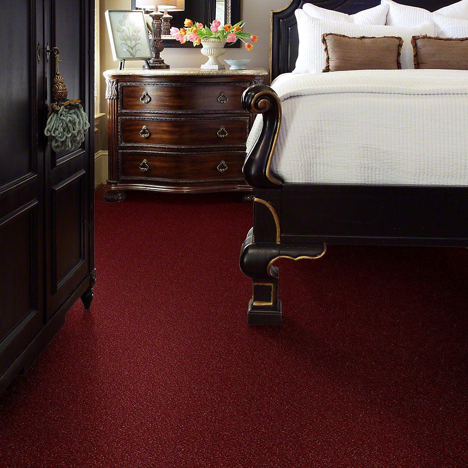 Shaw Floors Clearly Chic Bright Idea III Ravishing Red 00802_E0506