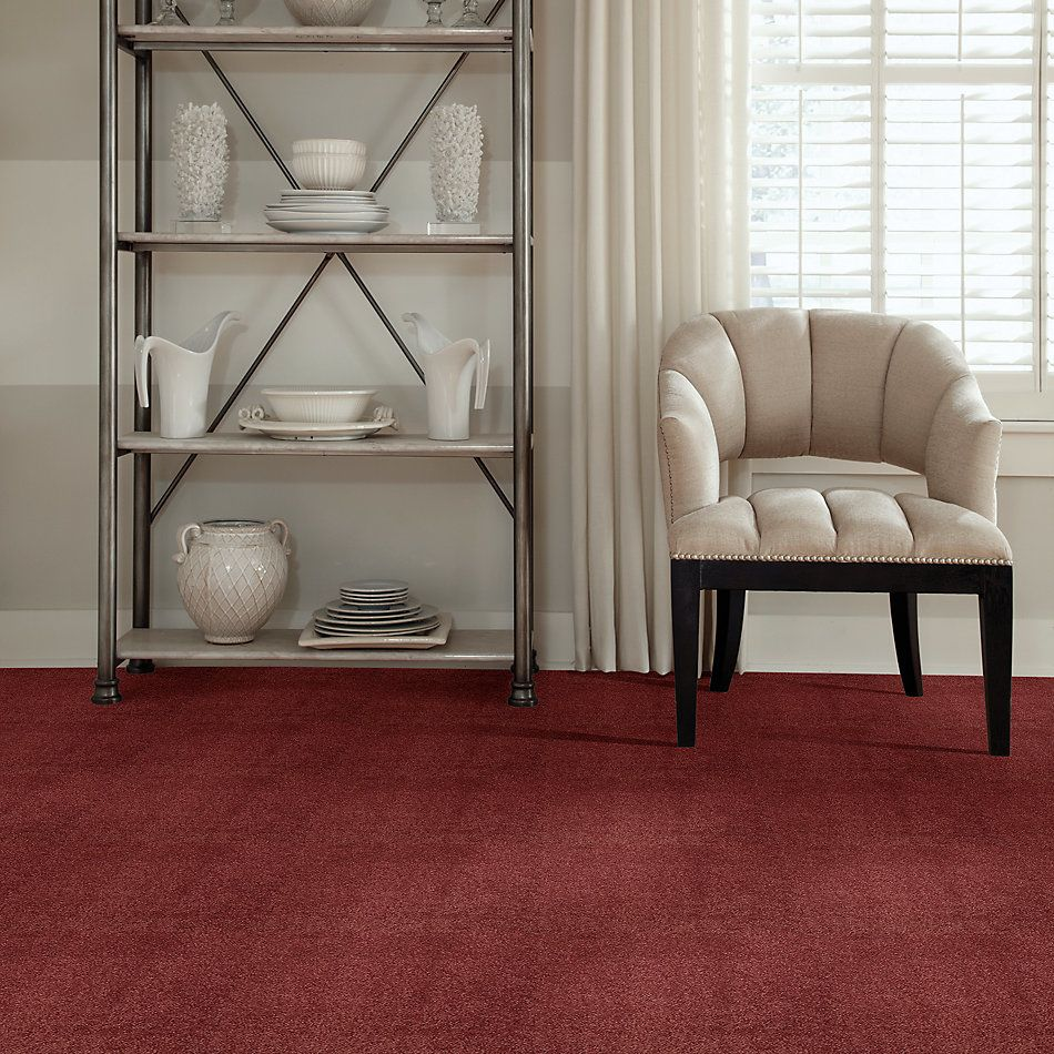 Shaw Floors Value Collections Cashmere III Lg Net Cranberry 00821_CC49B