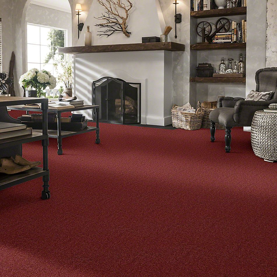 Shaw Floors Caress By Shaw Quiet Comfort Classic II Cranberry 00821_CCB97